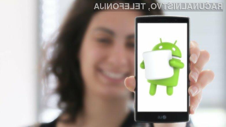 Android 6.0 Marshmallow naj bi bil na voljo za prenos že jeseni.