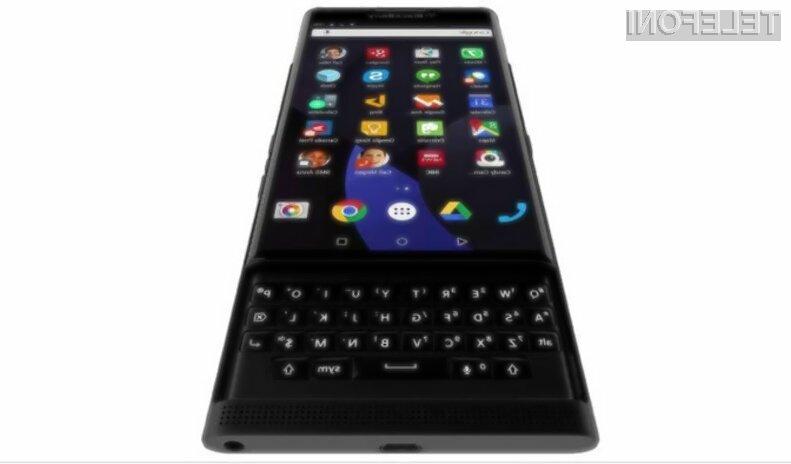 BlackBerry naj bi poslovne uporabnike storitev mobilne telefonije poskušal prepričati z Androidom!