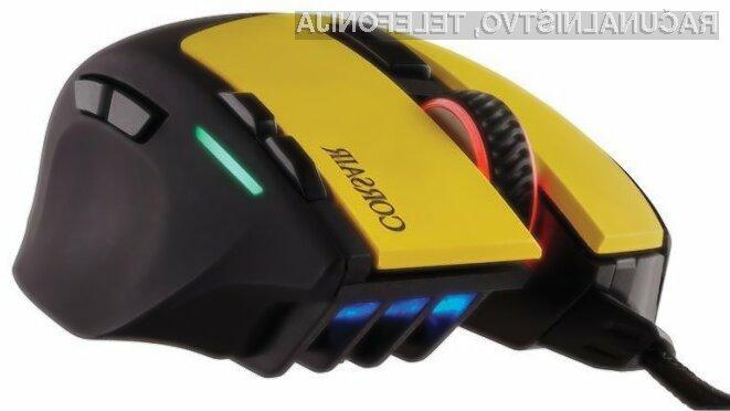 Računalniška miška Corsair Gaming Sabre Laser se najbolje znajde v prvoosebnih strelskih igrah.