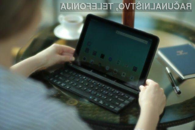 Kompaktna in upogljiva računalniška tipkovnica LG Rolly Keyboard KBB-700 ponuja vse tipke klasične tipkovnice,