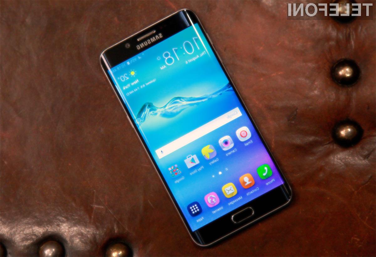 Novi pametni mobilni telefon Samsung Galaxy S6 Edge+ nas zagotovo ne bo pustil na cedilu!