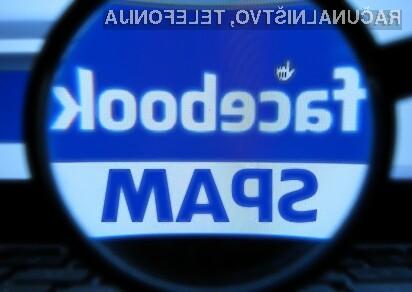 Sporočila SPAM na Facebooku so žal vse pogostejša!
