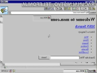 Internet Explorer je