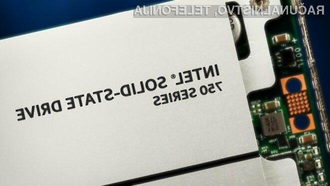 Novi Intelov pogon Solid State družine 750 Series ponuja optimalno razmerje med ceno in zmogljivostjo.