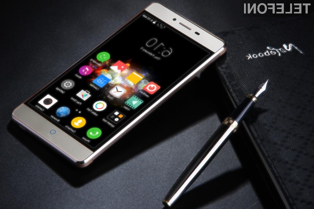 Pametni mobilni telefon ZTE V5 vas bo zlahka prepričal.
