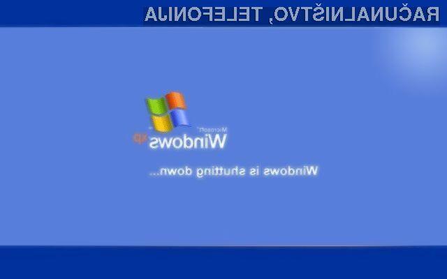 Delež operacijskega sistema Windows XP naj bi pričel močno upadati šele v teku naslednjega leta.