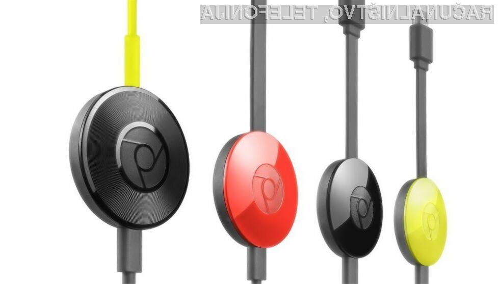 Prenovljeni Google Chromecast je vsestransko uporaben in všečen na pogled!