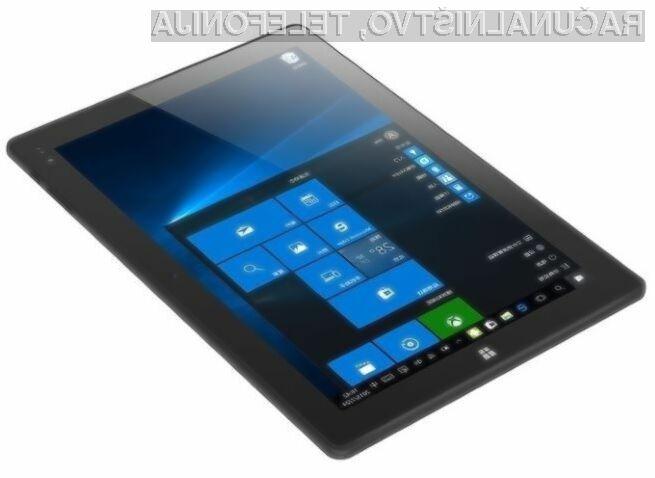 Tablica Chuwi Hi10 združuje vse prednosti Androida 5.1 in Windowsa 10!