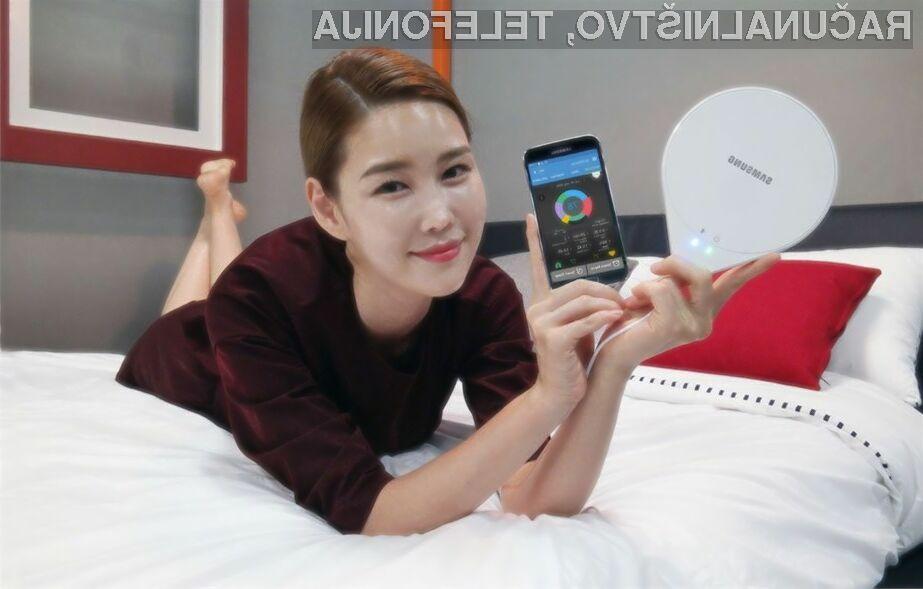 Patentirana tehnologija podjetja Samsung v napravi SleepSense bo poskrbela za kakovostnejši spanec.