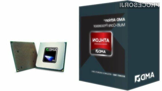 Procesorji AMD Athlon X4 880K naj bi bil pisan na kožo tudi zahtevnejšim uporabnikom in igričarjem.