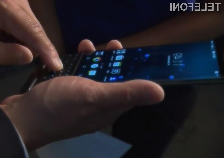 Prvi mož podjetja Blackberry ne ve kaj veliko o njihovem prvem mobilniku z Androidom!