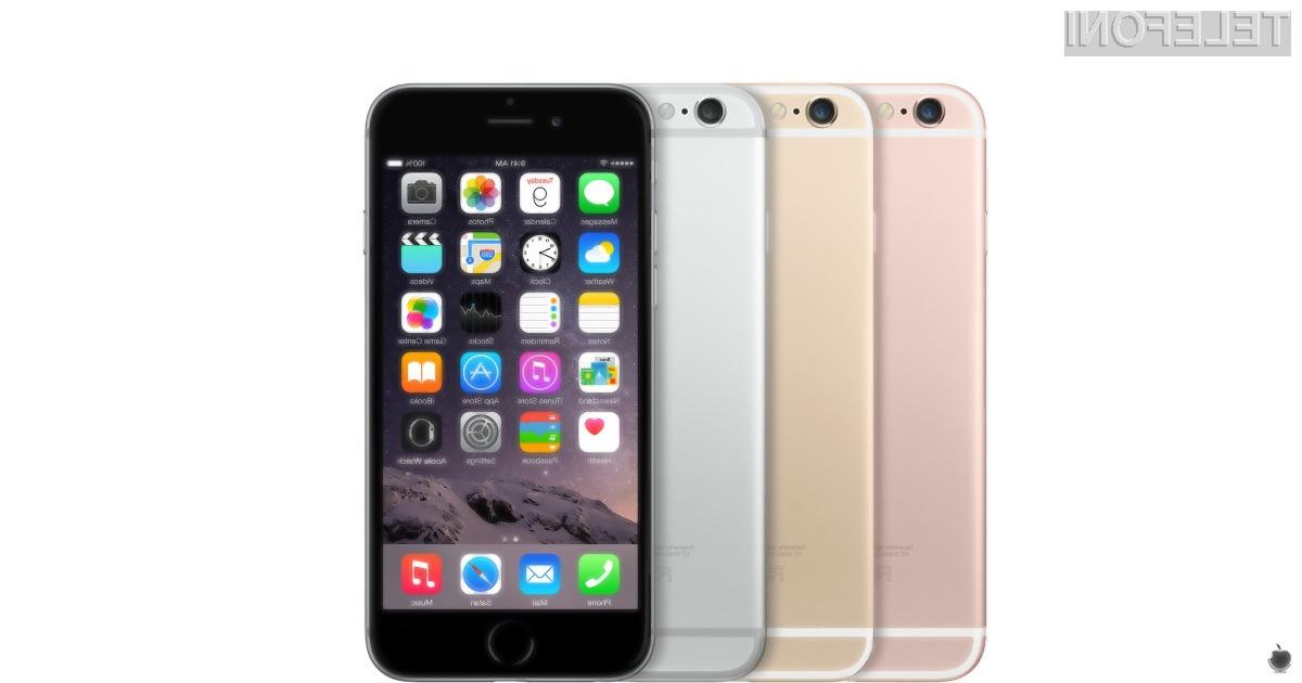 Mobilnika iPhone 6S sta nekoliko bolj vzdržljiva kot izdelki konkurence, vseeno pa se priporoča uporaba zaščitnega etuija.