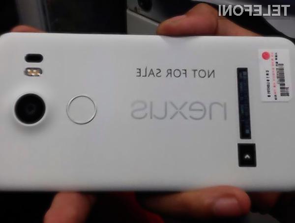 Pametni mobilni telefon Google Nexus 5X naj bi bil cenovno precej boj dostopen od zdajšnjega modela.