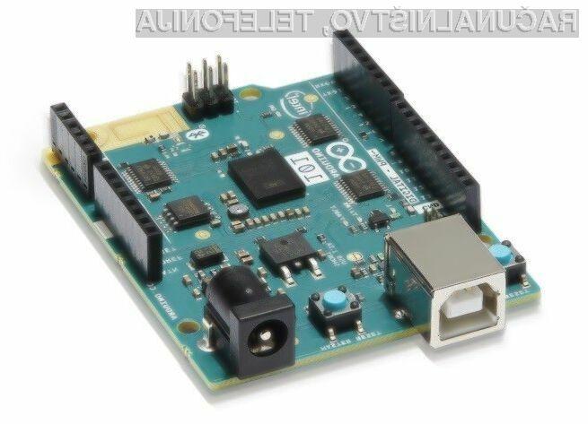 Miniaturni računalniški sistem Intel Genuino 101 bo naprodaj za zgolj preračunanih 26 evrov.
