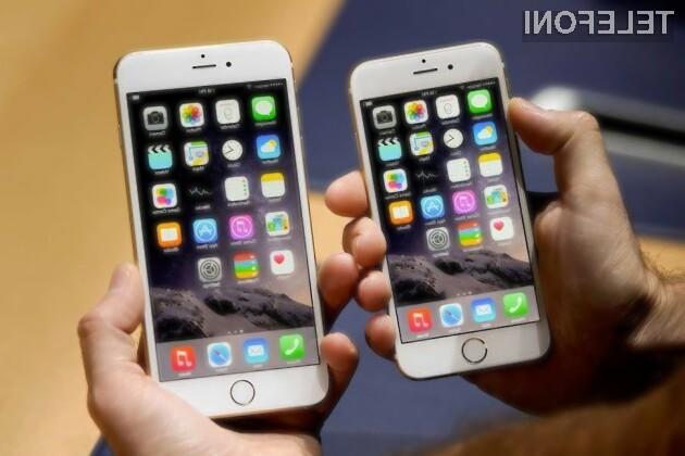 Nova mobilnika iPhone 6S sta pri nas pričakovano relativno draga.