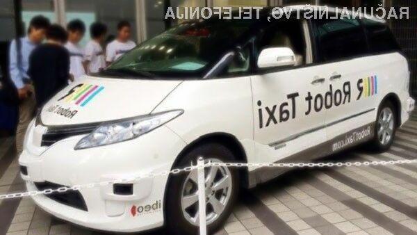 Na japonskem bodo kmalu na voljo taksiji brez voznika!