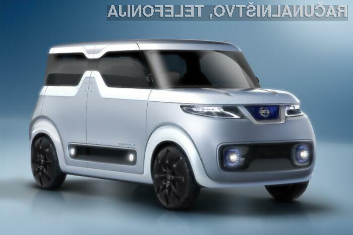 Avtomobil Nissan Teatro za Dayz bo zlahka prepričal tehnološke navdušence.