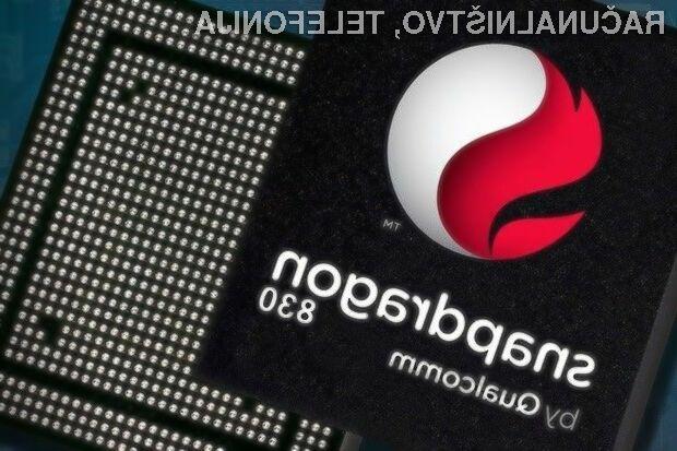 Prve mobilne naprave s procesorjem Qualcomm  Snapdragon 830 bodo naprodaj leta 2017!