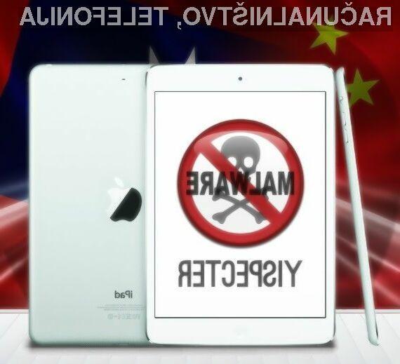 Uporabnikom mobilnega operacijskega sistema iOS 9 zlonamerno programje YiSpecter ne more do živega!