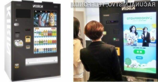Japonskem proizvajalec avtomatov za pijače Kirin se bo z novim izdelkom zagotovo prikupil ljubiteljem selfijev!