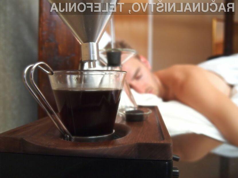 Budilka in aparat za kavo v enem Barisieur nam bo zagotovo polepšal jutranje vstajanje!