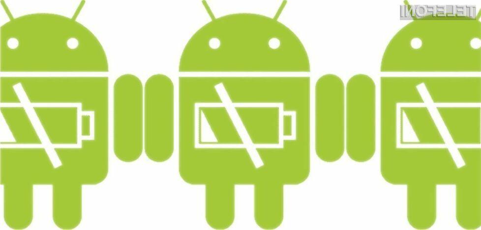 Android 6.0 Marshmallow bo ugodno vplival na avtonomijo delovnja mobilnih naprav!