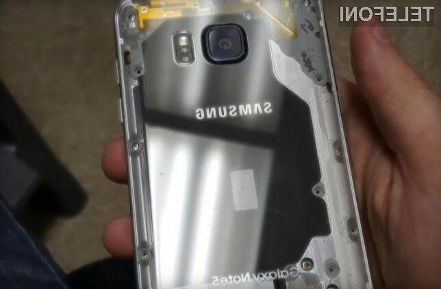 Predelani pametni mobilni telefon Samsung Galaxy Note 5 izgleda naravnost fantastični.