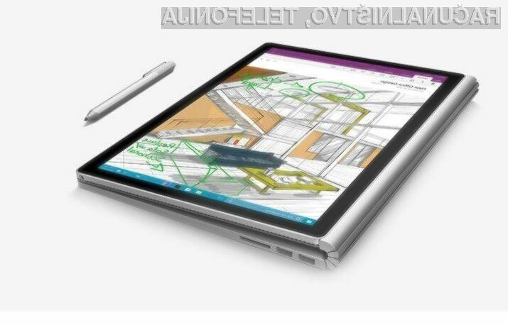 Na prenosnik Microsoft Surface Book morajo kupci v ZDA čakati tudi do sedem tednov.