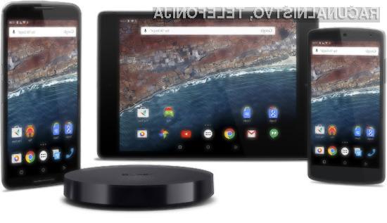 Mobilne naprave Google Nexus so kot prve prejele posodobitev na Android 6.0 Marshmallow.