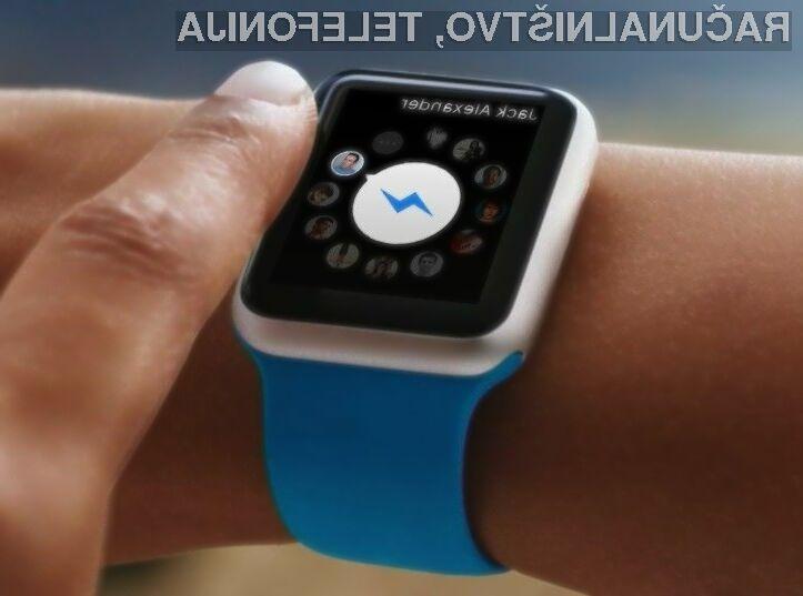 Novi Facebook Messenge se odlično prilega pametni ročni uri Apple Watch.