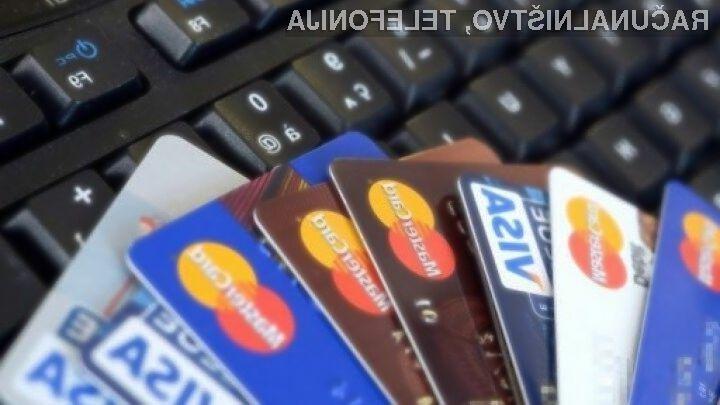 Plačilna kartica je na temnem spletu vredna le še 1,3 evra.