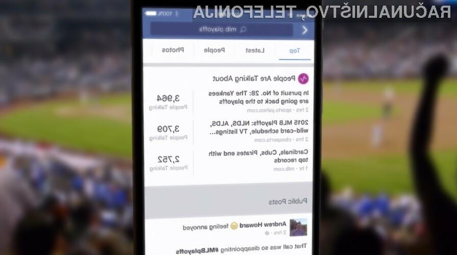 Uspeh Facebookovega iskalnika bi bil lahko usoden za Googlovega.