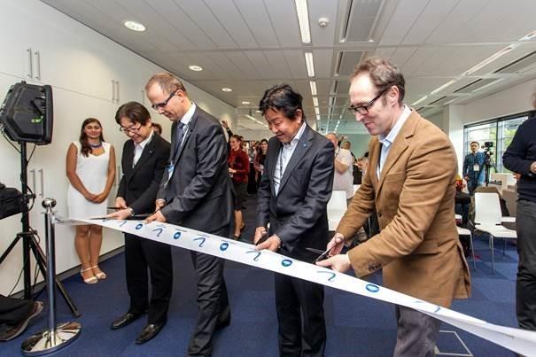 Na sliki od leve proti desni: Norihisa Takayama, Tomáš Bednář, Kunihiro Koshizuka, Dennis Curry.