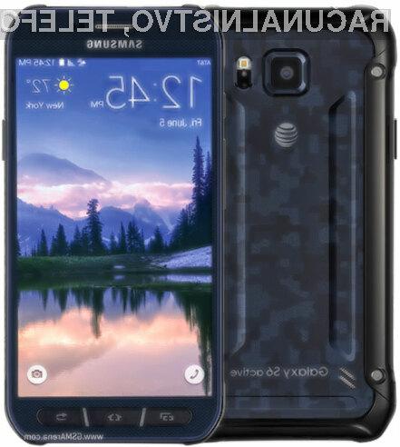 Mobilnik z najboljšo avtonomijo delovanja je Samsung Galaxy S6 Active!
