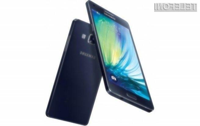 Mobilnik Samsung Galaxy A5 naj bi bil dostopen širšemu krogu uporabnikov storitev mobilne telefonije!