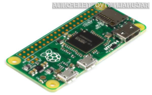 Podjetju Raspberry je uspelo izdelati osebni računalnik vrednosti zgolj 4,7 evrov.