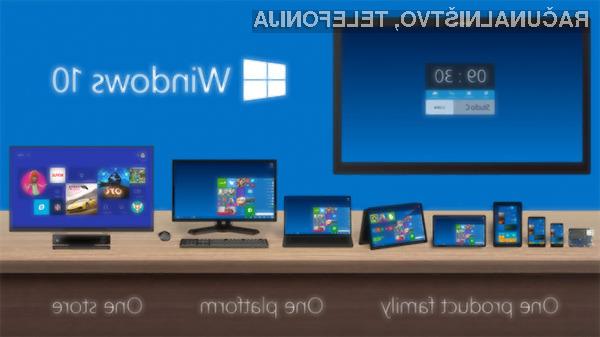 Windows 10 vse hitreje pridobiva nove uporabnike!