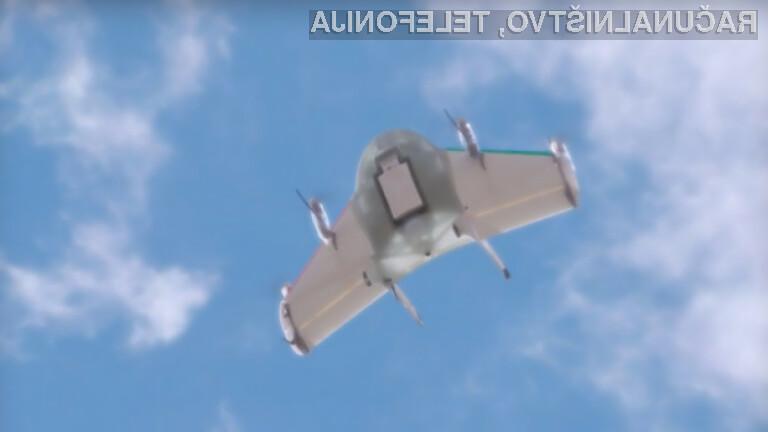 Googlova brezpilotna letala bodo za vedno spremenila način dostavljanje paketov končnim kupcem.