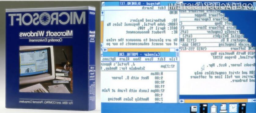 Operacijski sistem Windows 1.0 je prvič bil naprodaj pred kar 30 leti!