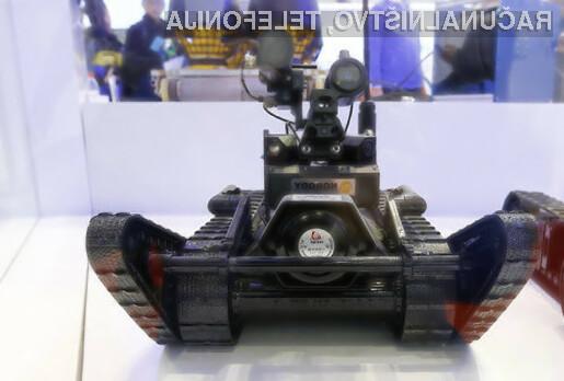 Kitajska vojska bo mir zagotavljala tudi s pomočjo robotov.