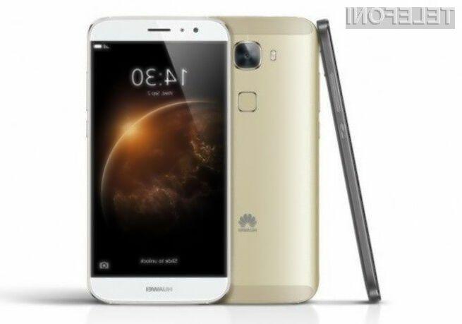 Huawei G7 Plus se lahko pobaha tudi z bralnikom prstnih odtisov.