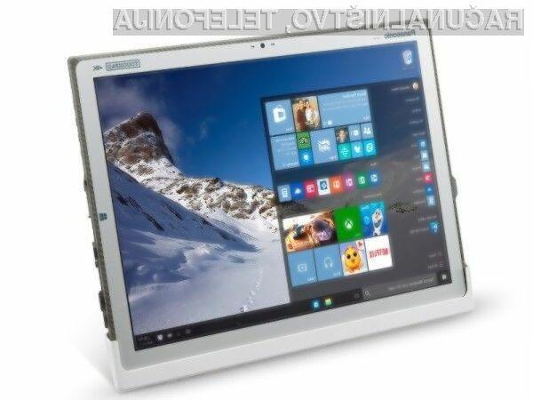 Tablični računalnik Panasonic Toughpad FZ-Y1 bomo brez bojazni lahko uporabljali kjerkoli in kadarkoli.