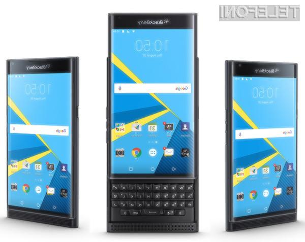 Za BlackBerry PRIV bo v Evropi potrebno odšteti kar preračunanih 780 evrov!