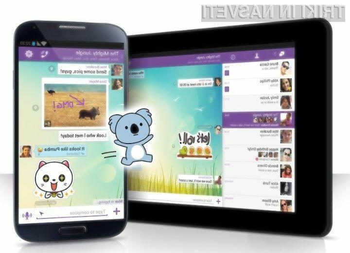 Nova mobilna aplikacija Viber omogoča brisanje sporočil na prejemnikovi strani.