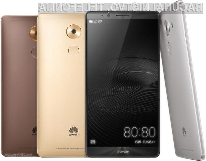 Podjetje Huawei je s pripravo pametnega mobilnega telefona Mate 8 nedvomno zadelo v polno!