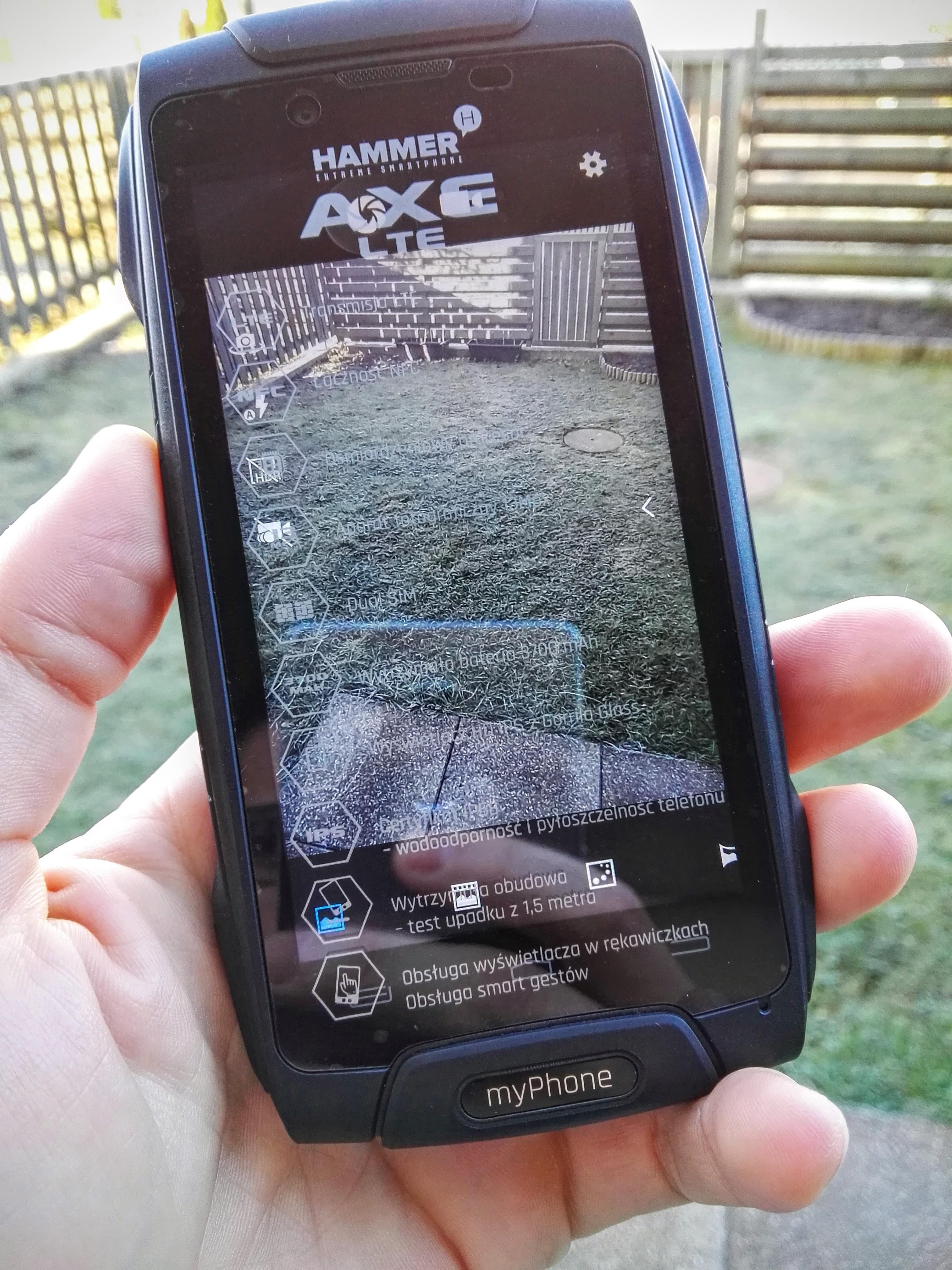 Myphone Hammer axe LTE