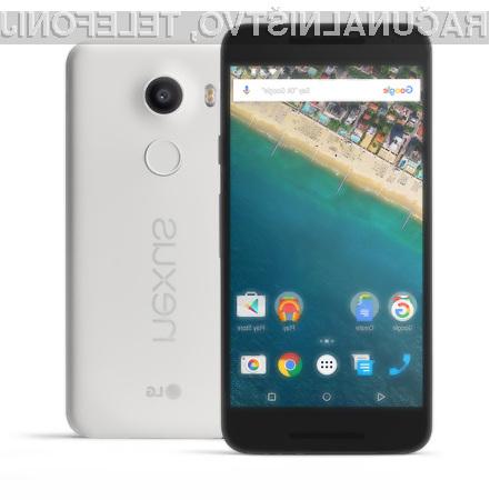 Pametni mobilni telefon Google Nexus 5X je vse prej kot uporaben!