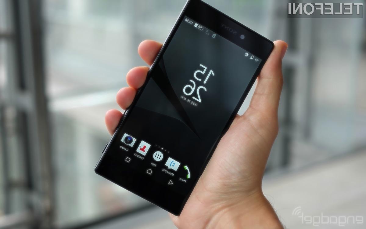 Sony Z5 Premium se odlično prilega petičnežem!