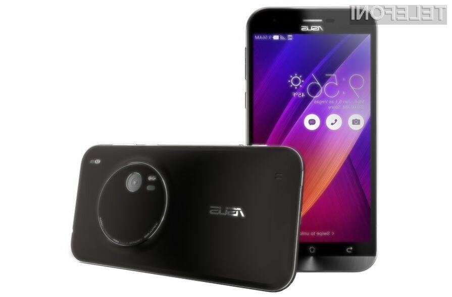 Mobilnik Asus ZenFone Zoom bo zlahka nadomestil kompaktni fotoaparat.