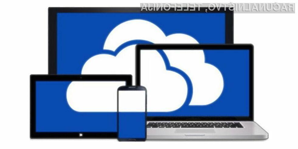 Microsoft bo do konca januarja uporabnikom storitve OneDrive omogočil, da obdržijo 30 GB brezplačnega prostora.
